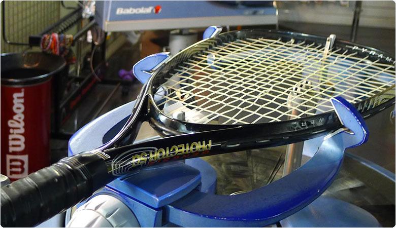 Перетяжка струн теннисных